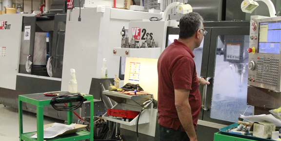 HAAS milling center